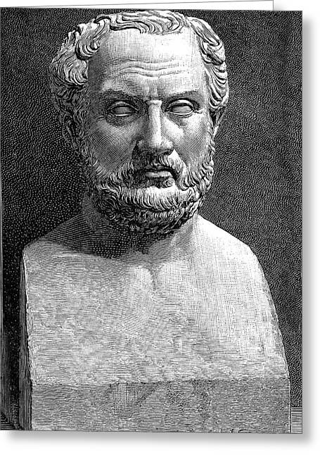 Thucydides Greeting Card by Collection Abecasis