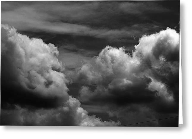 Thunder Clouds Greeting Card