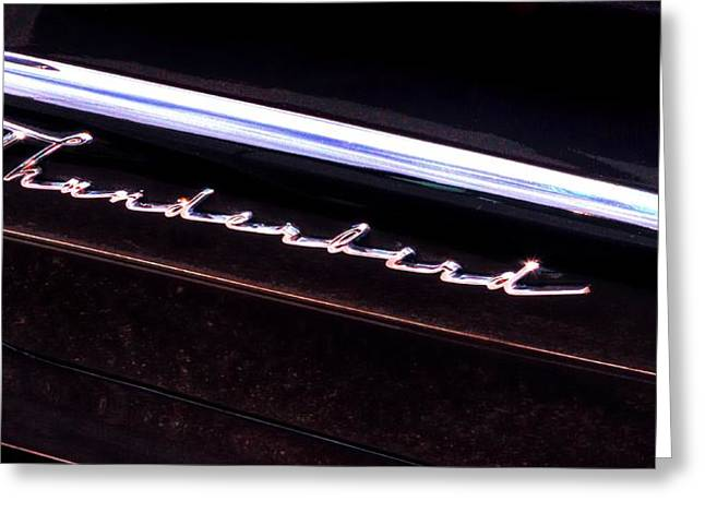 Thunderbird 14757 Greeting Card by Jerry Sodorff