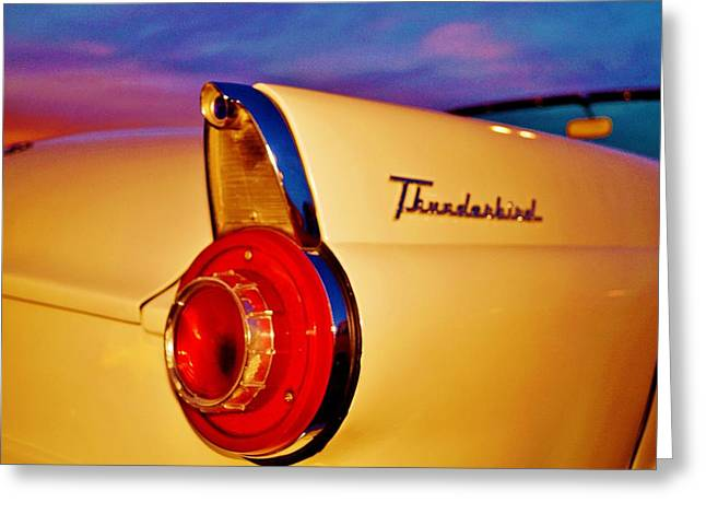 Thunderbird Greeting Card by Daniel Thompson
