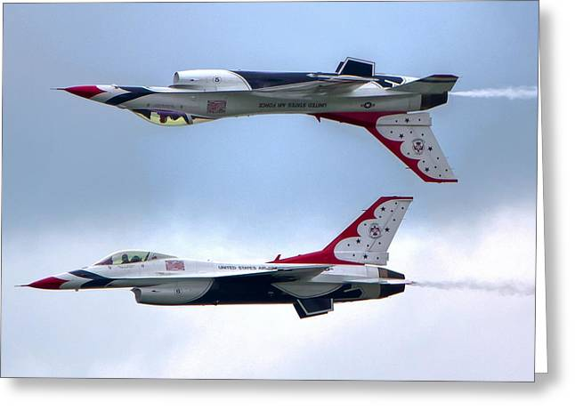 Thunderbirds Greeting Card by Brent Durken