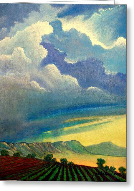 Thunderhead Greeting Card