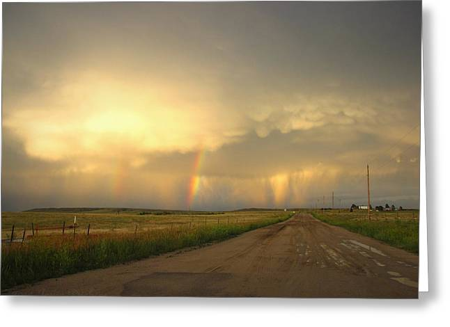 Thunderstorm  07 11 14 One Greeting Card by Joyce Dickens