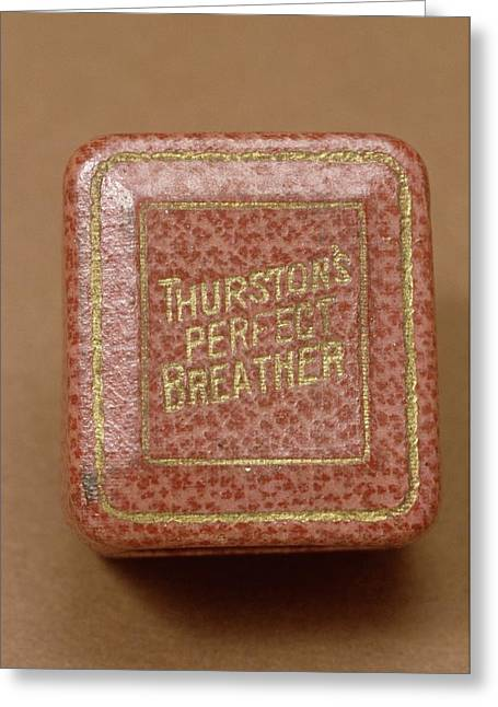 Thurston's Perfect Breather Greeting Card by Science Photo Library