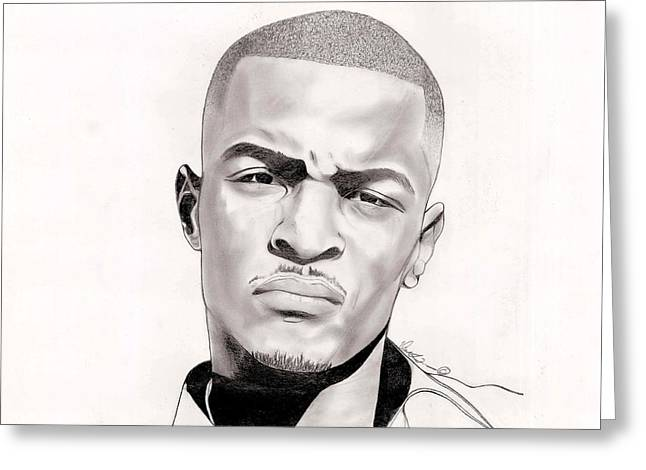 T.i. Greeting Card by Vincent Turner