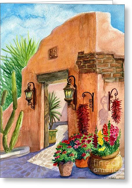 Tia Rosa Time Greeting Card