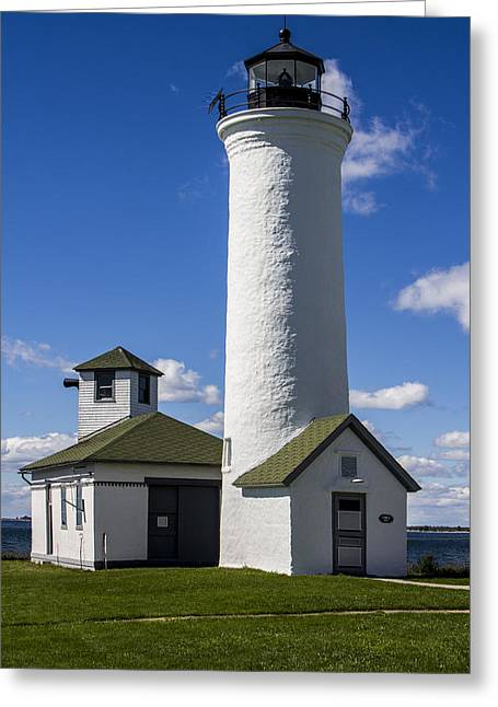 Tibbetts Point Lighthouse Greeting Card by Ben and Raisa Gertsberg
