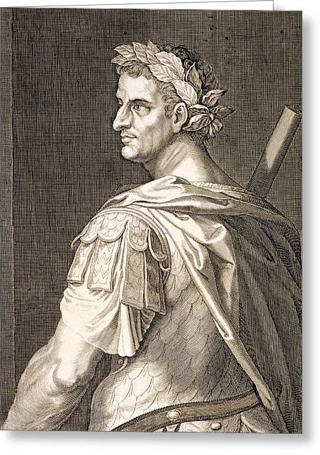 Tiberius Caesar Greeting Card by Titian