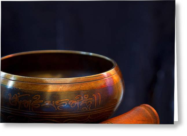Tibetan Singing Bowl Greeting Card