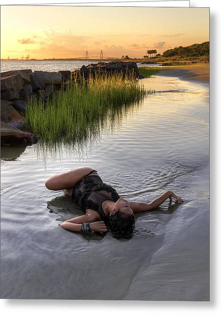 Tidal Pool  Greeting Card by Drew Castelhano