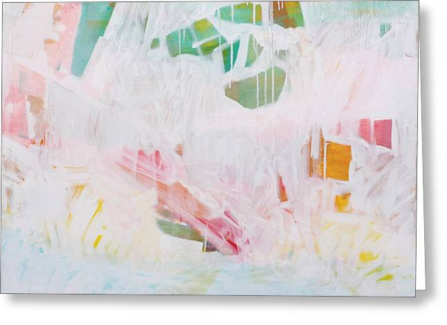 Abstract Expressionist Greeting Cards - Tidal Wash  c2012 Greeting Card by Paul Ashby