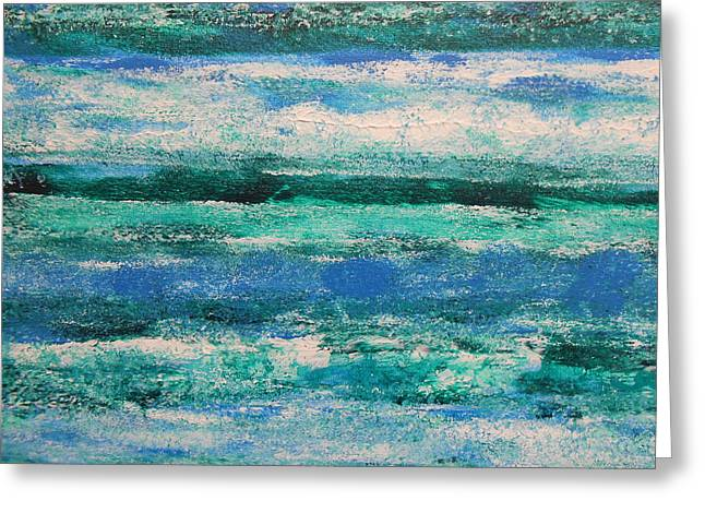 Tide Greeting Card by Lisa Williams