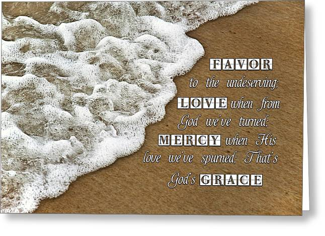 Tide Of Encouragement Greeting Card by Carolyn Marshall