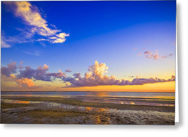 Tide Pools Greeting Card by Marvin Spates