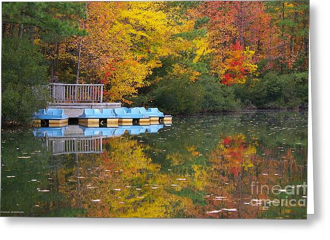 Tidewater Autumn Greeting Card by Tannis  Baldwin