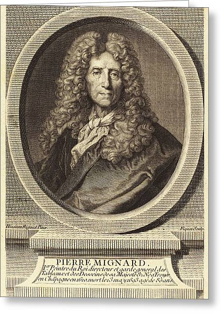 Étienne Ficquet After Hyacinthe Rigaud French Greeting Card by Quint Lox
