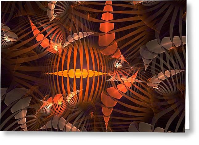 Tiger Shrimp Greeting Card by Anastasiya Malakhova