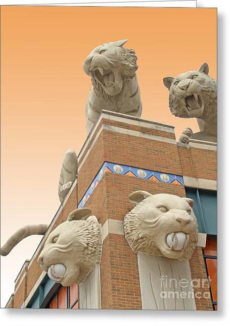 Tiger Town Greeting Card