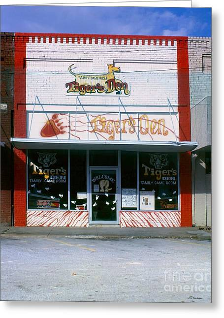 Tiger's Den  Watertown Tennessee Greeting Card by   Joe Beasley