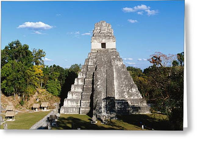 Tikal, Guatemala, Central America Greeting Card by Panoramic Images