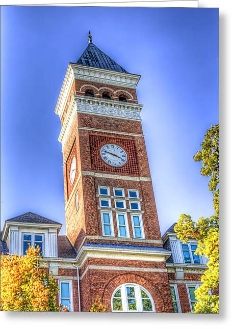 Tillman Clock Tower Greeting Card