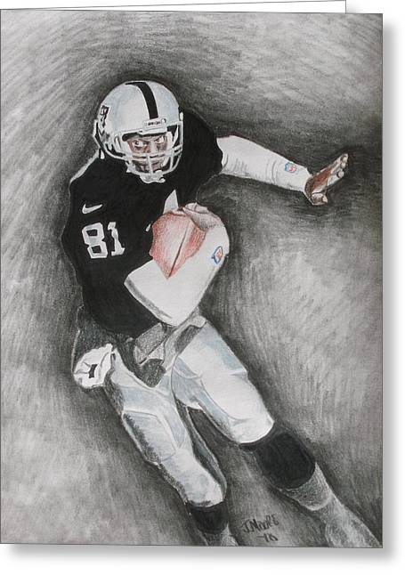 Tim Brown Greeting Card by Jeremy Moore