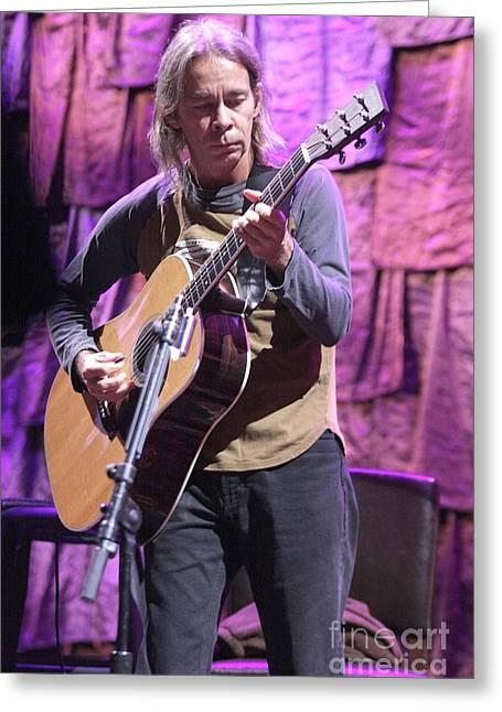 Guitarist Tim Reynolds Greeting Card by Concert Photos