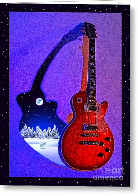 Magic To The World... Music To The World .1 Greeting Card