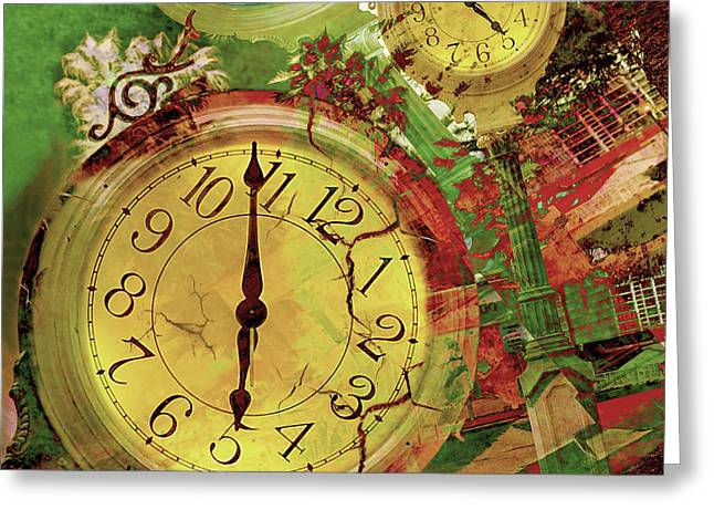Time 6 Greeting Card