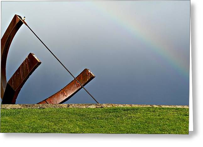 Time Between Storms Greeting Card