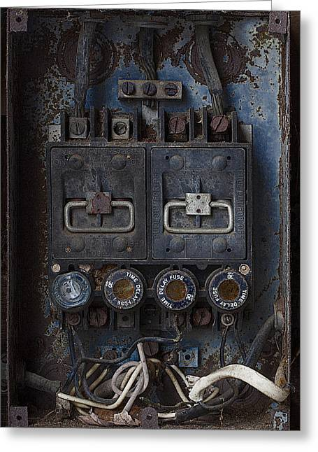 Time Delay Greeting Card by Ron Jones