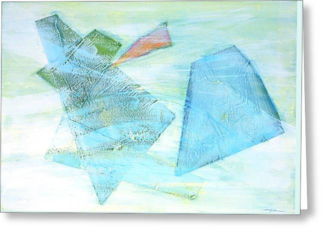 Time Flying By  Greeting Card by Asha Carolyn Young