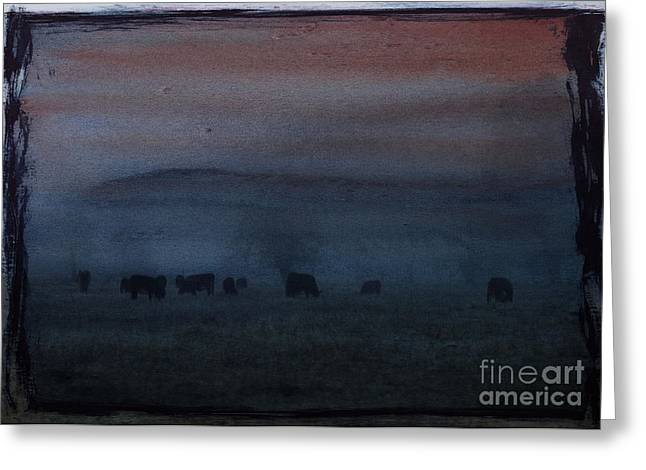Time For Grazing Greeting Card