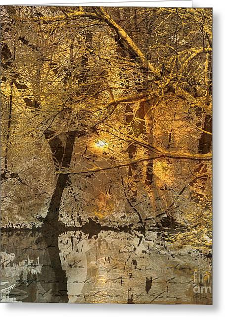 Time II Greeting Card by Yanni Theodorou