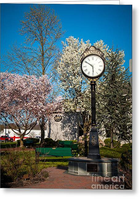 Time In Barnegat Greeting Card by Bob and Nancy Kendrick