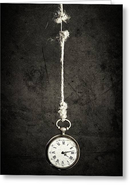 Time Is Up Greeting Card