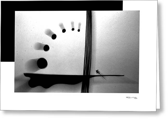 Time On A String Greeting Card by Xoanxo Cespon