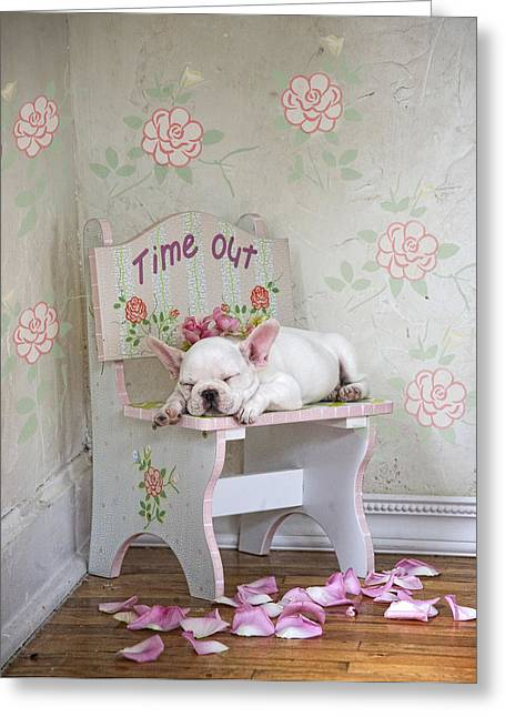 Time Out Variant 1 Greeting Card by Lisa Jane