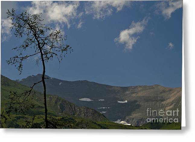 Time Stands Still High Alpine Region Austria Greeting Card