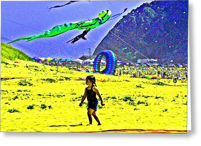 Time To Fly My Kite Greeting Card