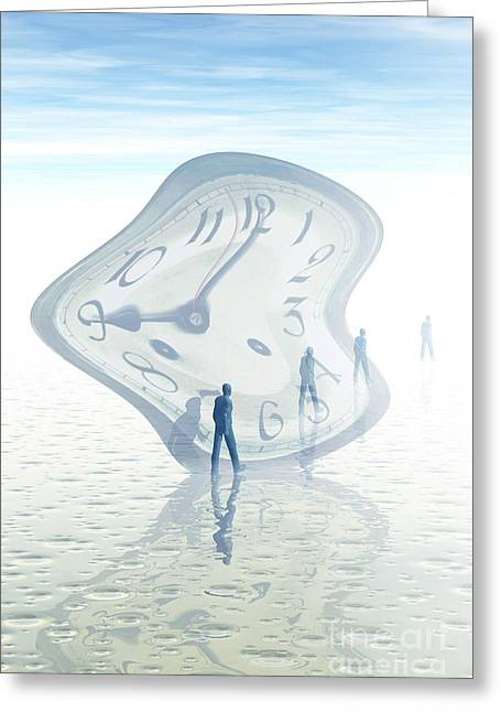 Time Warp, Conceptual Greeting Card by Carol and Mike Werner