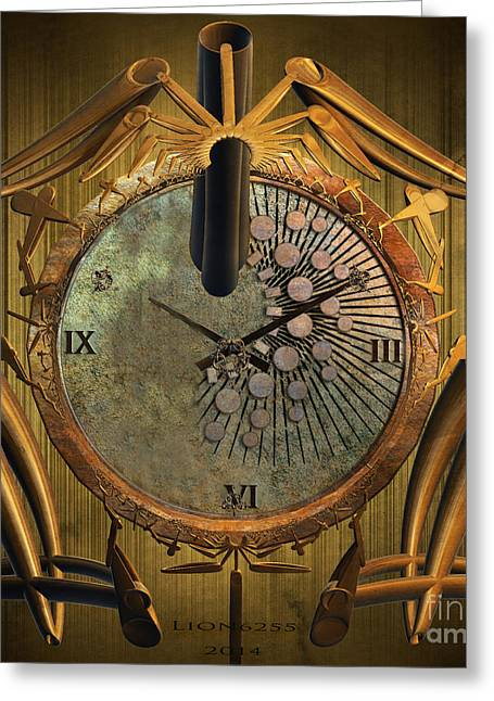 Time Will Move Forward Greeting Card