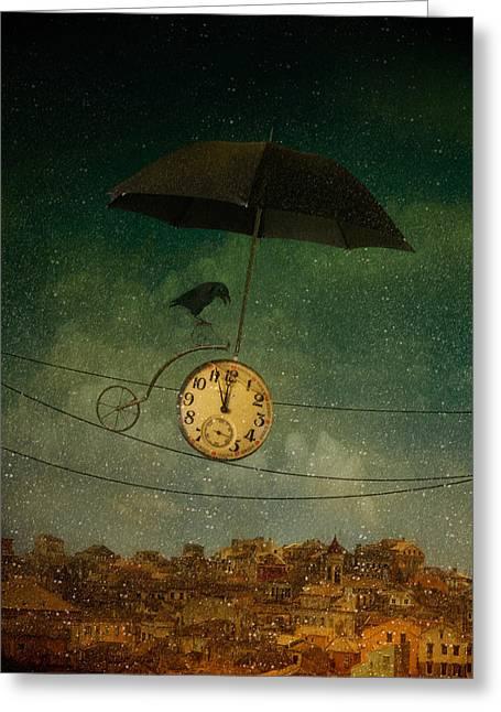 Timekeeper Greeting Card