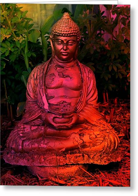 Timeless Buddha Greeting Card