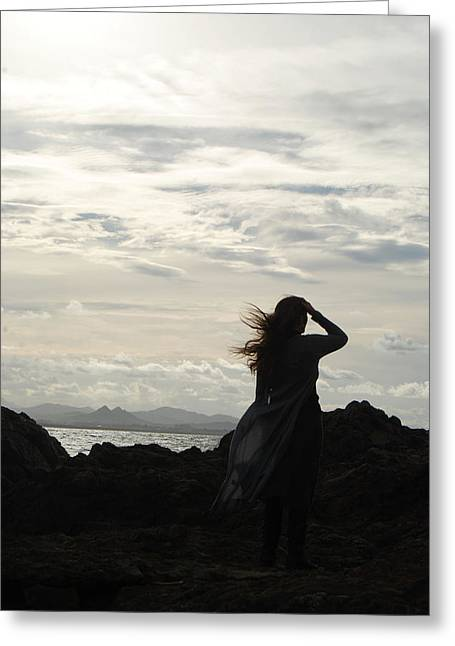 Greeting Card featuring the photograph Timeless Celtic Sky by Ankya Klay