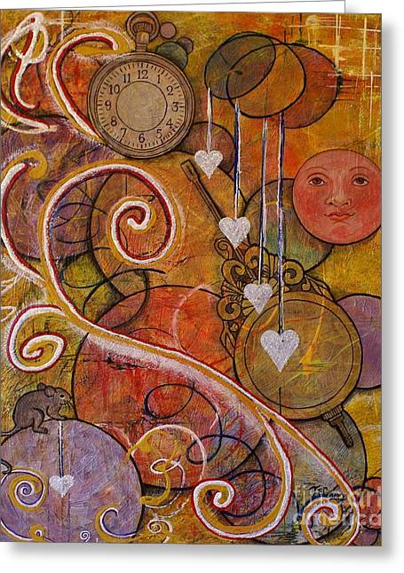 Greeting Card featuring the painting Timeless Love by Jane Chesnut