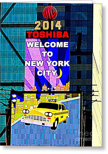 Times Square New Years Eve Ball Greeting Card by Ed Weidman