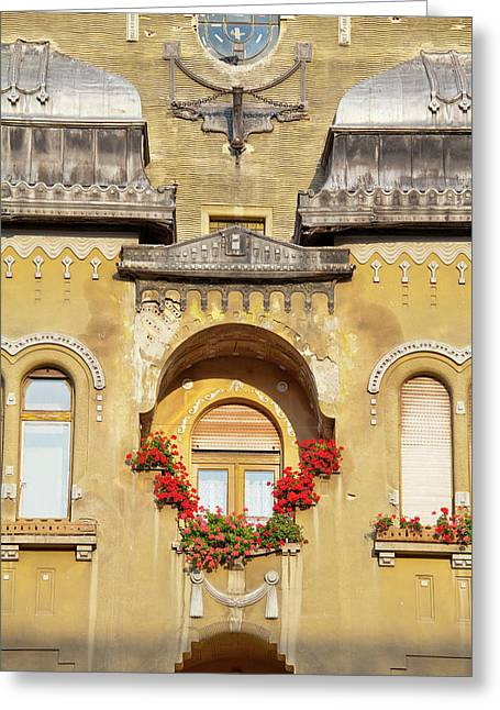 Timisoara In The Banat Of Romania Greeting Card by Martin Zwick