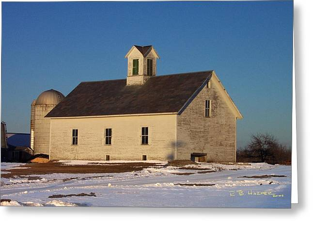 Timstead Barn Greeting Card