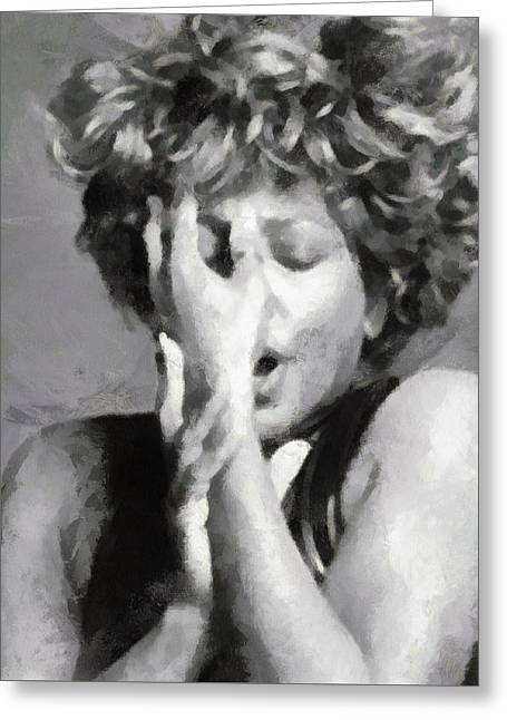 Tina Turner - Emotion Greeting Card